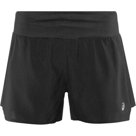 "asics 3,5"" Shorts Donna, performance black"
